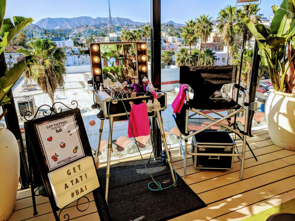 Bai Beverages – Rooftop Hollywood Party