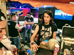Faux Tattoo Studios at TwitchCon for Xbox Sea of Thieves