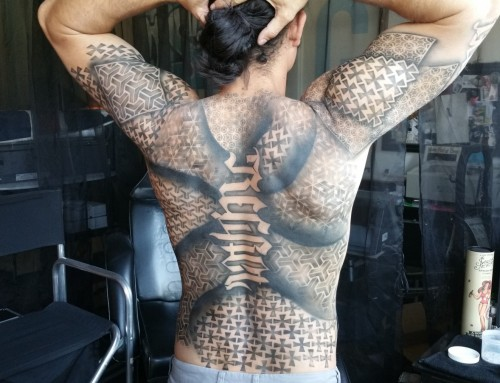 Futuristic Gang Tattoos – Full Torso and Sleeves