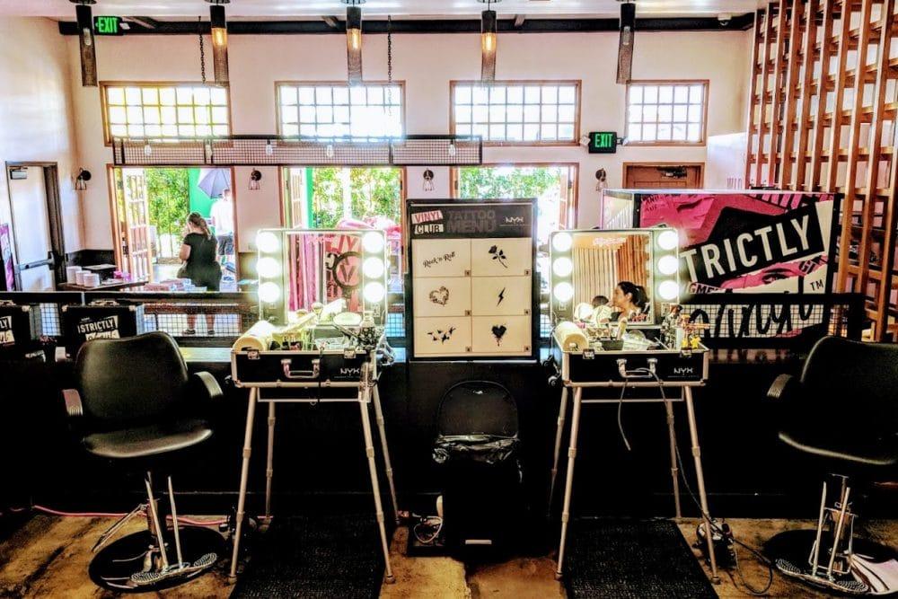 NYX Cosmetics Vinyl Club - Coachella 2018