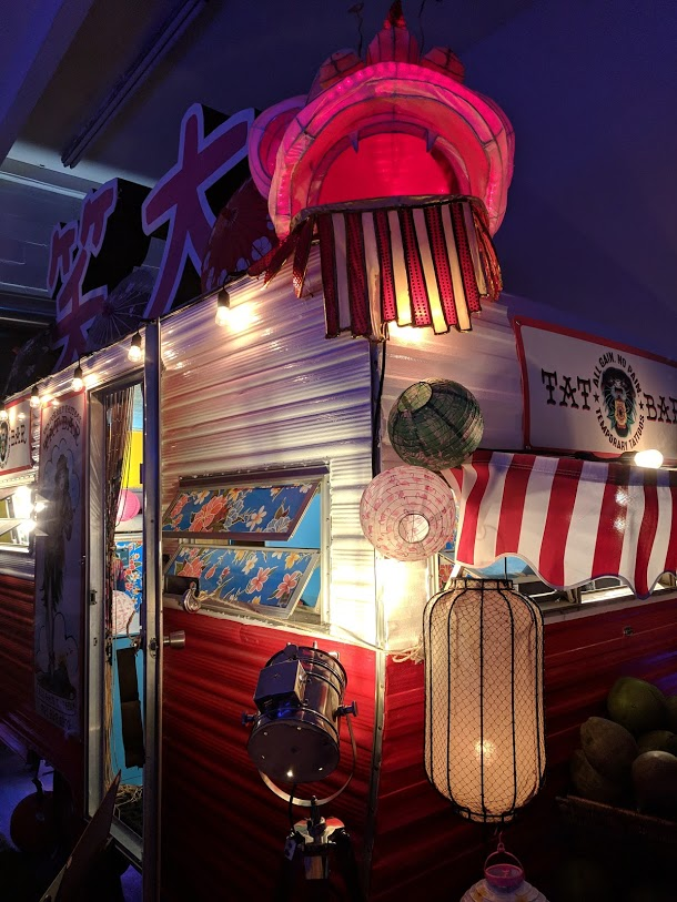 Buxom Betty Mobile Tat Bar for Events