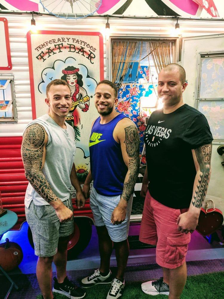 Three Maori Tattoo Sleeves